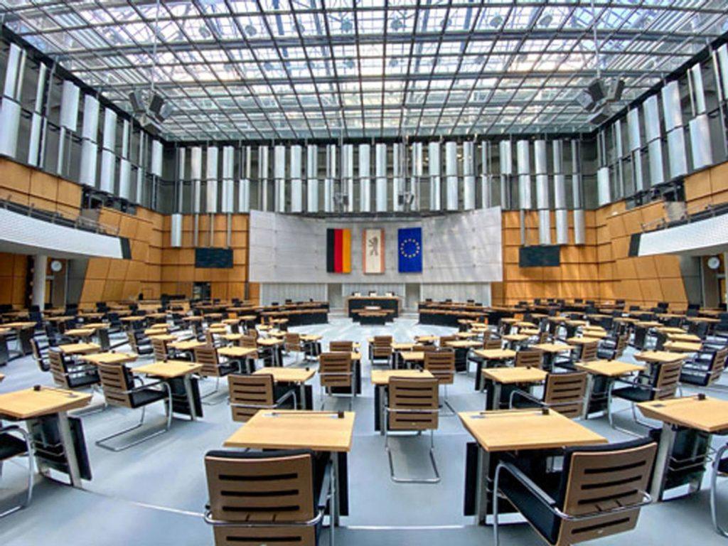 berlin-abgeordnetenhaus-coronaumbau